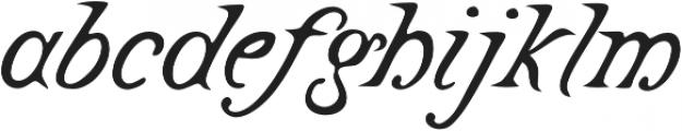 Castine otf (400) Font LOWERCASE