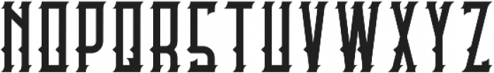 Castlecary Regular otf (400) Font UPPERCASE