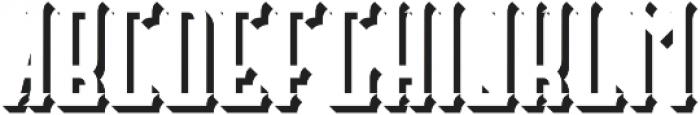 Castlecary ShadowFX otf (400) Font UPPERCASE
