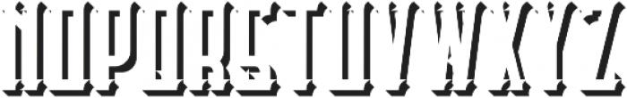Castlecary ShadowFX otf (400) Font LOWERCASE