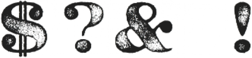Caston Inked ttf (500) Font OTHER CHARS