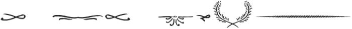 Castor Ornaments otf (400) Font OTHER CHARS