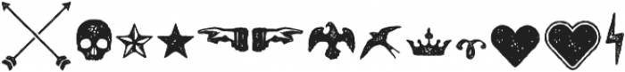 Castor Ornaments otf (400) Font LOWERCASE
