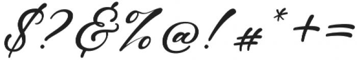 Castro Regular otf (400) Font OTHER CHARS