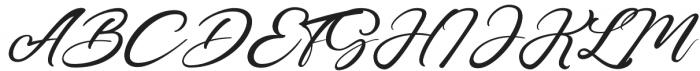 Castro Regular otf (400) Font UPPERCASE