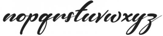 Castro Regular otf (400) Font LOWERCASE