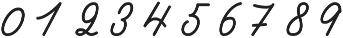 Castro Script ttf (400) Font OTHER CHARS