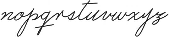 Castro Script ttf (400) Font LOWERCASE