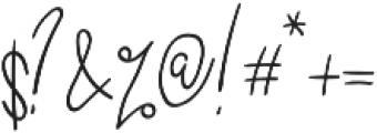 Casttano otf (400) Font OTHER CHARS