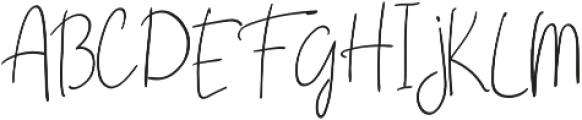 Casttano otf (400) Font UPPERCASE