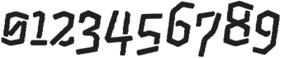 CatShape Alquitran Stencil otf (400) Font OTHER CHARS
