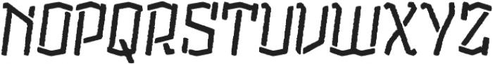CatShape Alquitran Stencil otf (400) Font UPPERCASE