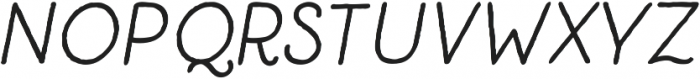 Catalina Clemente Bold Italic ttf (700) Font UPPERCASE