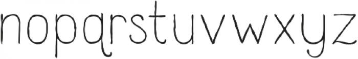 Catalina Clemente Light ttf (300) Font LOWERCASE