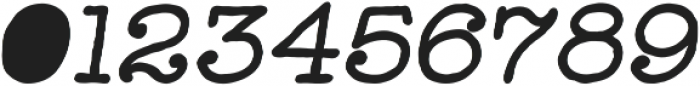 Catalina Typewriter Bold Italic ttf (700) Font OTHER CHARS