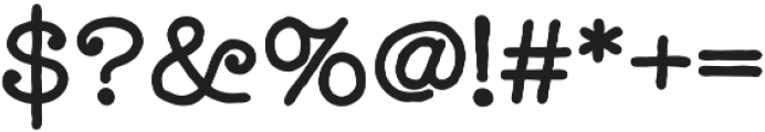Catalina Typewriter Bold otf (700) Font OTHER CHARS