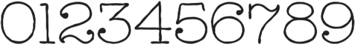 Catalina Typewriter Light ttf (300) Font OTHER CHARS