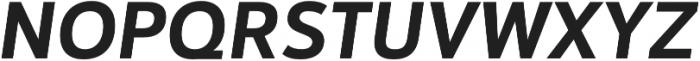 Catesque Bold Italic otf (700) Font UPPERCASE