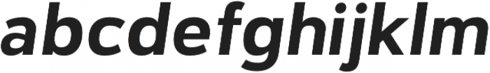 Catesque Bold Italic otf (700) Font LOWERCASE