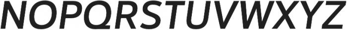 Catesque Medium Italic otf (500) Font UPPERCASE
