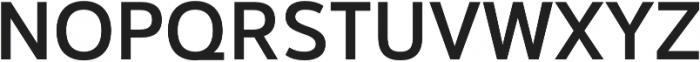 Catesque Medium otf (500) Font UPPERCASE