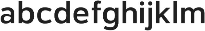 Catesque Medium otf (500) Font LOWERCASE