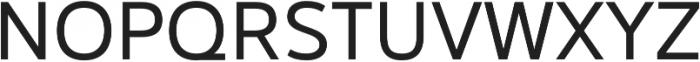 Catesque Regular otf (400) Font UPPERCASE