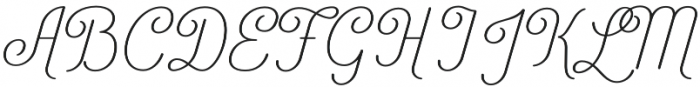 Catfish Light otf (300) Font UPPERCASE