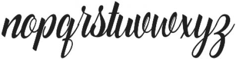 Catfish Script Regular otf (400) Font LOWERCASE