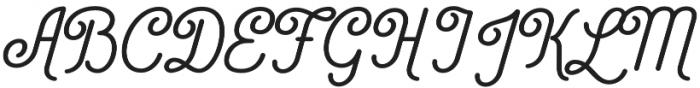 Catfish SemiBold otf (600) Font UPPERCASE