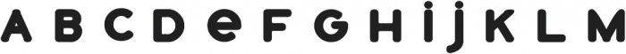 Catfish Traditional Bold otf (700) Font LOWERCASE