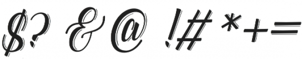 Catfish line Script Regular otf (400) Font OTHER CHARS