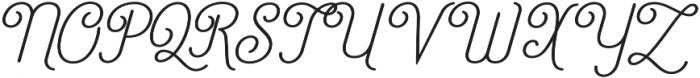 Catfish otf (400) Font UPPERCASE