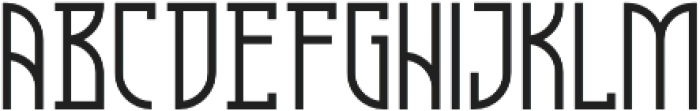 Cathedral Regular otf (400) Font LOWERCASE