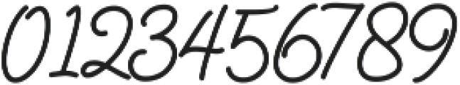 Catherine Script otf (400) Font OTHER CHARS