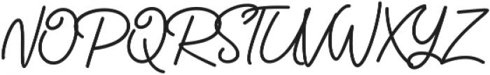 Catherine Script otf (400) Font UPPERCASE