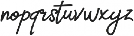 Catherine Script otf (400) Font LOWERCASE