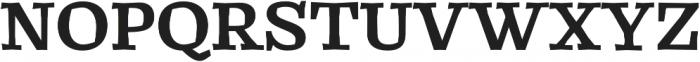 Catrina Bold otf (700) Font UPPERCASE