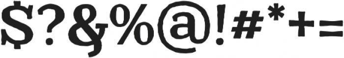 Catrina Handmade Bold otf (700) Font OTHER CHARS