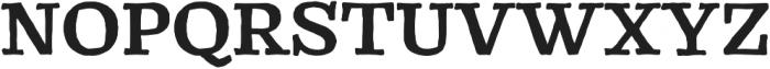 Catrina Handmade Bold otf (700) Font UPPERCASE