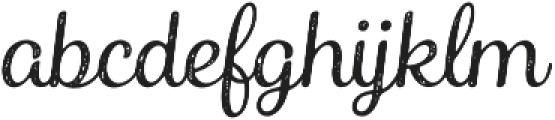 Catsy Printed otf (300) Font LOWERCASE