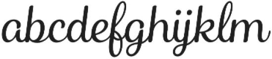 Catsy otf (300) Font LOWERCASE
