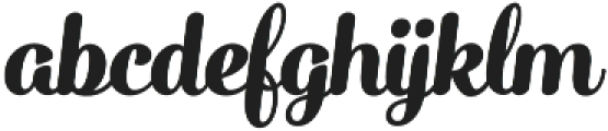 Catsy otf (900) Font LOWERCASE