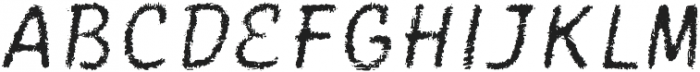 Catwing Fuzz otf (400) Font UPPERCASE