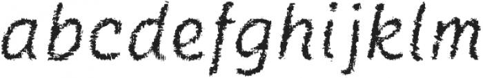 Catwing Fuzz otf (400) Font LOWERCASE