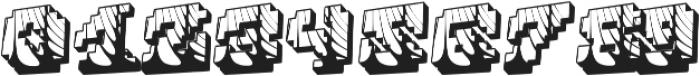 Cauterise otf (400) Font OTHER CHARS