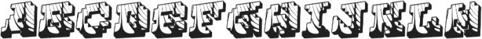 Cauterise otf (400) Font LOWERCASE