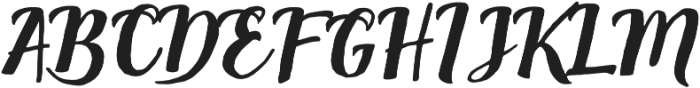 Cavalliers otf (400) Font UPPERCASE