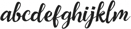 Cavalliers otf (400) Font LOWERCASE