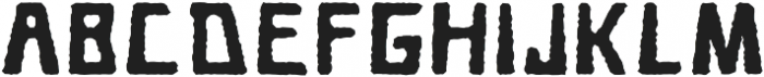 Cave Age Rough otf (400) Font UPPERCASE